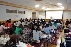 伝建建築の修理についての講演会(咸宜公民館)