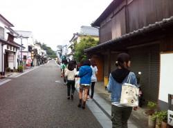 豆田町伝統的建造物群保存地区見学
